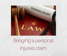 Bringing a personal injuries claim | Solicitor Westmeath Legal